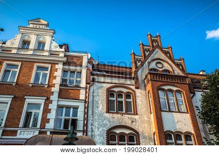 View of the Sopot City in Poland Europe .