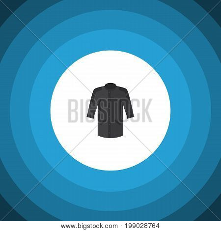 Uniform Vector Element Can Be Used For Kimono, Uniform, Clothes Design Concept.  Isolated Kimono Flat Icon.