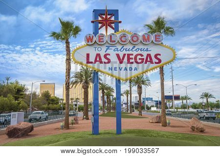 The fabulous Welcome Las Vegas Nevada sign