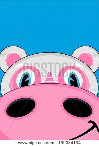 Cartoon Hippo 28
