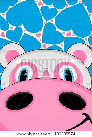 Cartoon Hippo 33