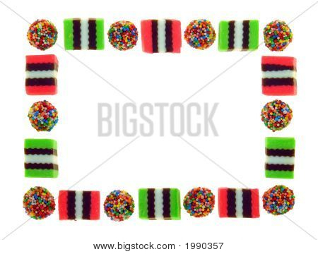 Frame Of Licorice Allsorts (B)