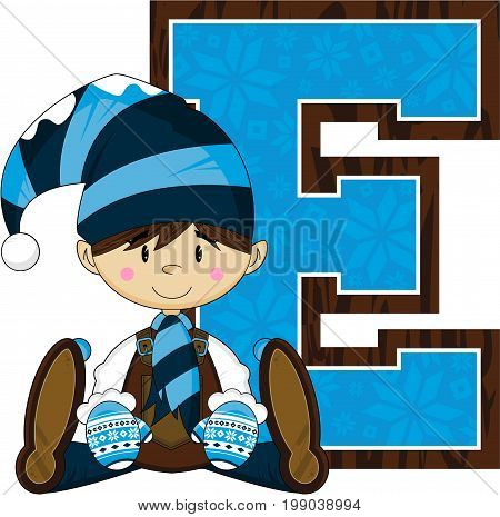 E Is For Elf 1.eps
