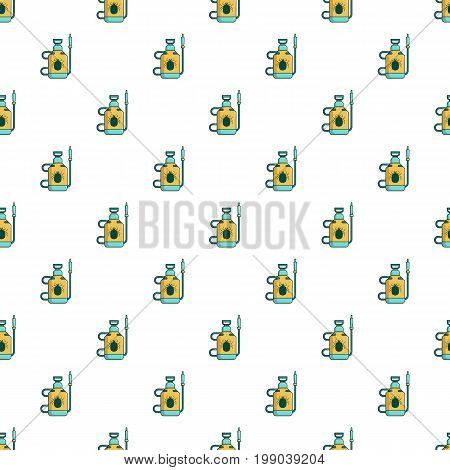 Acarus pulverizer pattern in cartoon style. Seamless pattern vector illustration