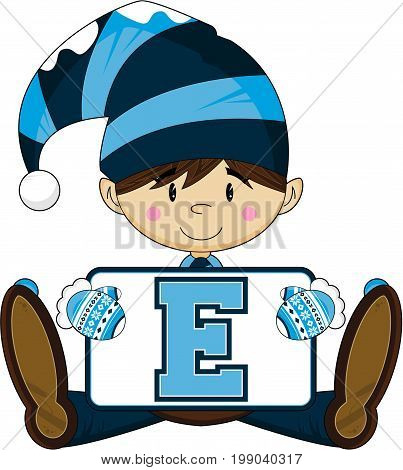 E Is For Elf 6.eps