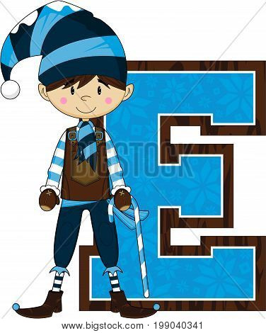E Is For Elf 10.eps