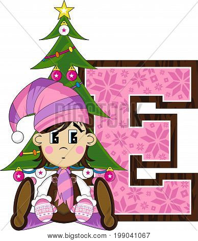 E Is For Elf 16.eps