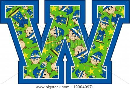 W Is For Wizard 9