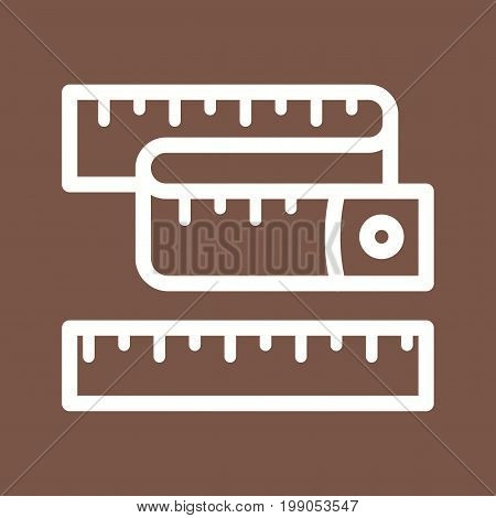 Sewing, tailor, tape icon vector image. Can also be used for Sewing. Suitable for mobile apps, web apps and print media.