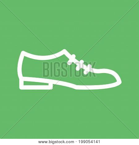 Shoes, formal, men icon vector image. Can also be used for Mens Accessories. Suitable for mobile apps, web apps and print media.