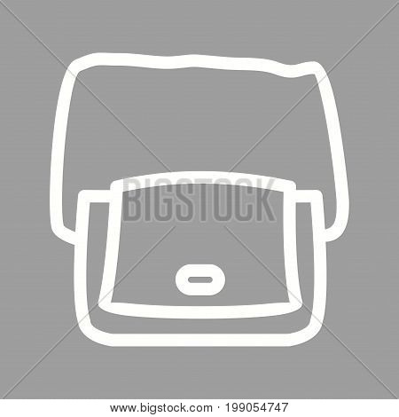 Bag, shoulder, hand icon vector image. Can also be used for Mens Accessories. Suitable for mobile apps, web apps and print media.