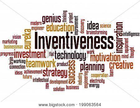 Inventiveness, Word Cloud Concept