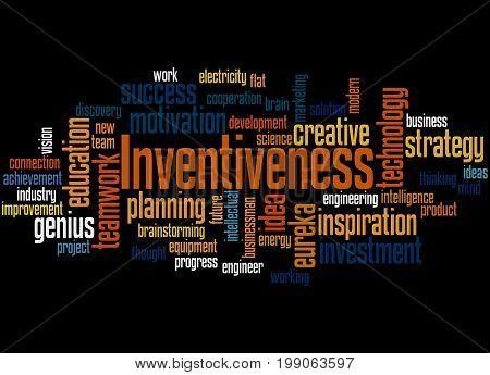 Inventiveness, Word Cloud Concept 3