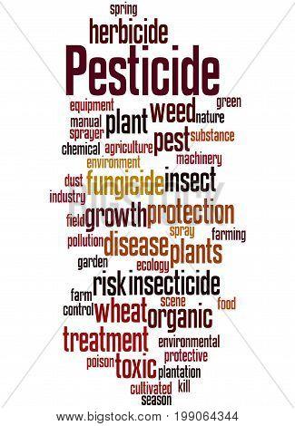 Pesticide, Word Cloud Concept