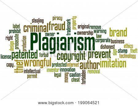 Plagiarism, Word Cloud Concept 6