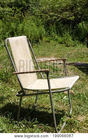 Old Picnic Chair