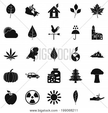 Sheet icons set. Simple set of 25 sheet vector icons for web isolated on white background