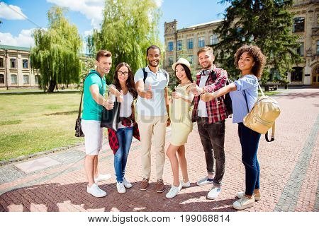 Education Is Cool! Successful Future For Smart Youth! Six Attractive Young Bachelors Are Welcoming I