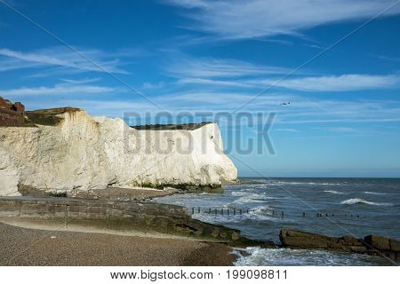 View of Splash Point and Seaford Head from Seaford in East Sussex.