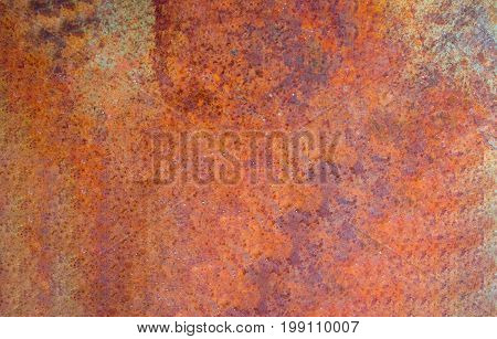 Close up iron old rust texture background