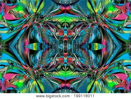 abstraction of colors.  On the picture is represented abstraction of multi colors. They can be used as a background
