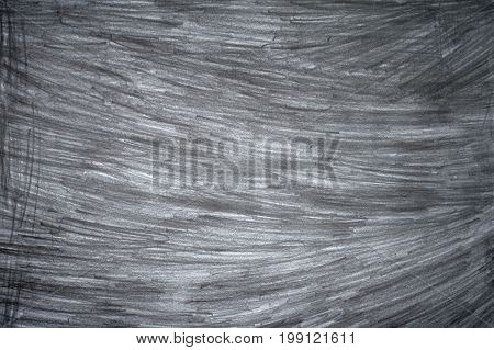 Graphite pencil strokes on the white paper pencil drawing texture abstract background