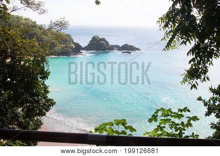 Sancho Beach, Fernando de Noronha Island, Pernambuco, Brazil