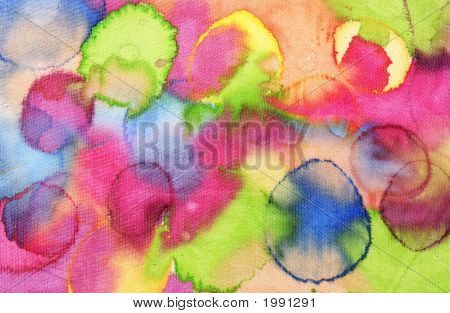 Colorful Silk Texture