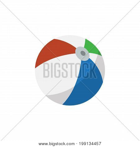 Sphere Vector Element Can Be Used For Sphere, Ball, Round Design Concept.  Isolated Ball Flat Icon.