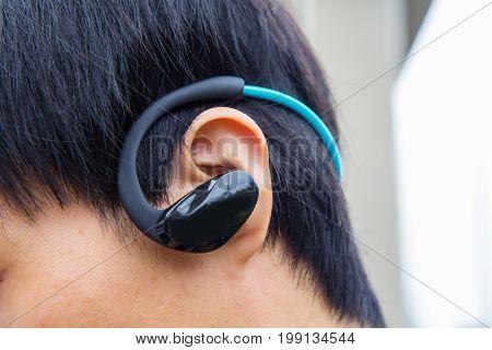 wireless sport headset / wireless earphones for running