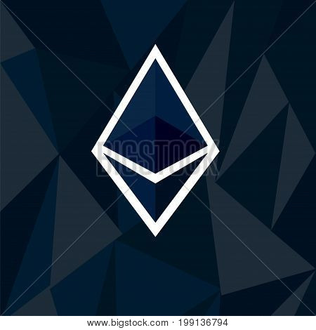 Cryptocurrency Ethereum Concept
