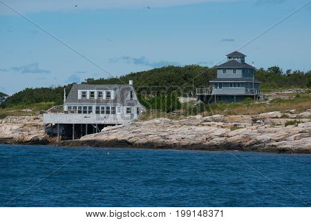 Located off of the coast of New Hampshire the Isle of the Shoals is a paradise hotspot
