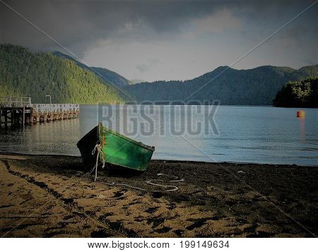 Puerto Fuy - Sur de Chile,