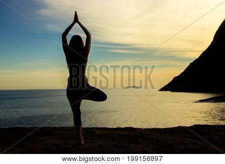 Fashion Model, Modelo, Model, Sunset, Por do Sol, Yoga
