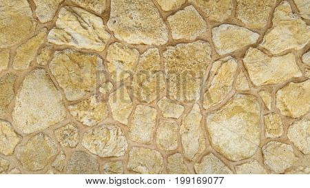 Golden Rock Wall