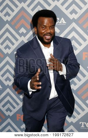 LOS ANGELES - AUG 8:  Craig Robinson at the FOX TCA Summer 2017 Party at the Soho House on August 8, 2017 in West Hollywood, CA