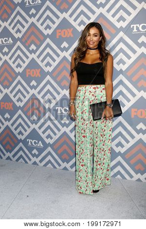 LOS ANGELES - AUG 8:  October Gonzalez at the FOX TCA Summer 2017 Party at the Soho House on August 8, 2017 in West Hollywood, CA