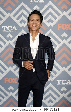 LOS ANGELES - AUG 8:  Benjamin Bratt at the FOX TCA Summer 2017 Party at the Soho House on August 8, 2017 in West Hollywood, CA