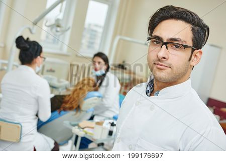asian dentist doctor