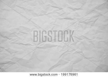 texture white creased paper for background concept