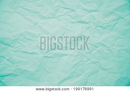 texture of blue creased paper for background