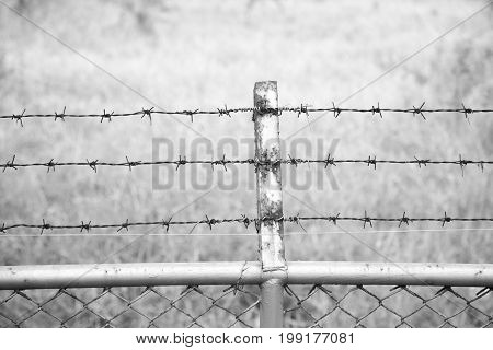 Barbed wire detention imprisonment hope,  in Thailand