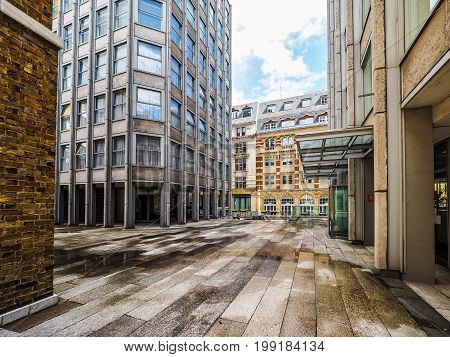 Economist Building In London (hdr)