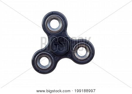Black Fidget Spinner, Stress Relieving Toy