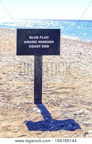 Blue Flag Award Winning Coast End 2