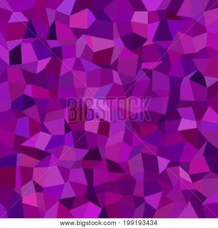Geometric abstract irregular rectangle mosaic background - polygonal vector design from rectangles in purple tones
