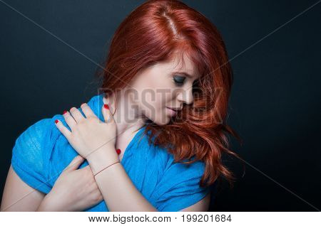 Romantic Photo Of Delicate Young Girl