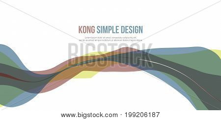 Collection stock Banner header website abstract vector art
