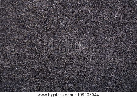 Abstract background texture of natural suede leather. Macro shot.