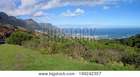 FROM CAPE TOWN, SOUTH AFRICA, LOOKING DOWN ON TO CAMPS BAY ON A SUMMERS DAY 37